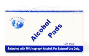 Alcohol Pads - 100 pieces
