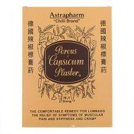 Astrapharm Chilli Brand Porous Capsicum Plaster Strong - 24 Pieces (Large)