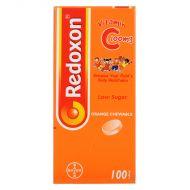 Bayer Redoxon Vitamin C 100mg - 100 Orange ChewableTablets