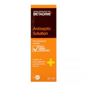 Betadine Antiseptic Solution - 30 ml