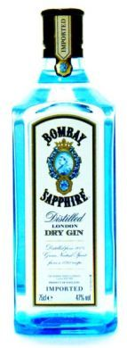 Bombay Sapphire Distilled London Dry Gin (Imported) - 75 cl (47% vol)