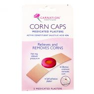 Carnation Footcare Corn Caps - 5 Medicated Plasters