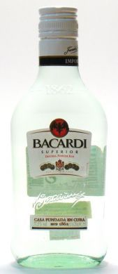 Bacardi Superior Original Premium Rum - 20 cl (37.5% vol)