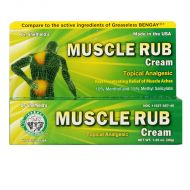 Dr Sheffield's Muscle Rub Cream - 35g
