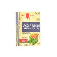 Eagle Brand Medicated Oil (Refresh) Peppermint Clove Bud - 3ml