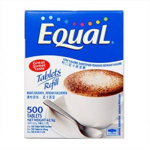 Equal Tablets Refill - 500 Tablets (42.5 gm)