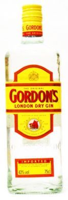Gordon's London Dry Gin (Imported) - 75 cl (43% vol)