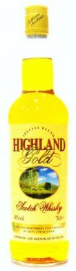 Highland Gold Scotch Whisky - 70 cl (40% vol)