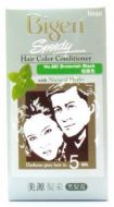Hoyu Bigen Speedy Hair Color Conditioner With Natural Herbs - No.882 Brownish Black