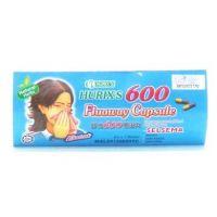 Hurix's 600 Fluaway Capsule - 6's x 1 Blister