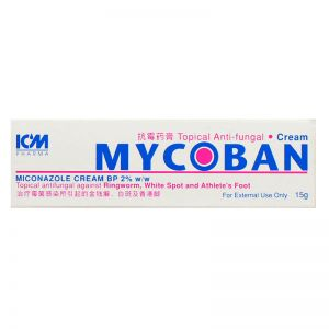 ICM Pharma Mycoban Topical Anti-fungal Cream - 15 gm