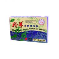 Ji Yang Brand Ling Yang Herbal Tea For Flu & Fever - 7 gm x 2 Sachets