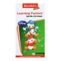 Kordel's Kids Learning Factors High DHA & GLA Formula - 90 Softgel Capsules