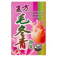 Mei Hua Brand Maodongqing Compound Capsules - 30 Capsules