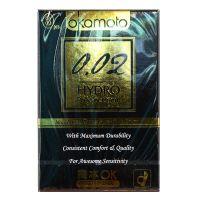 Okamoto 0.02 Hydro Polyurethane Condom - 3 Pieces
