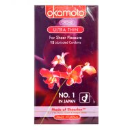 Okamoto Orchid Ultra Thin - 12 Lubricated Condoms