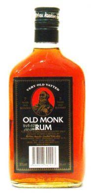 Old Monk Rum - 375 ml (37% v/v)