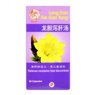 Qian Jin Brand Long Dan Xie Gan Tang - 50 Capsules