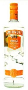 Smirnoff Twist of Orange Made with Triple Distilled Vodka - 70 cl (37.5% vol)