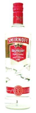 Smirnoff Twist of Raspberry Made with Triple Distilled Vodka - 70 cl (37.5% vol)
