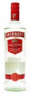 Smirnoff Triple Distilled For Purity Premium Vodka - 75 cl (40% vol)