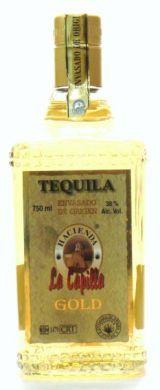 Tequila Hacienda La Capilla Gold - 750 ml (38% alc / vol)