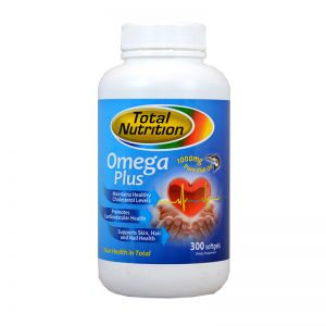 Total Nutrition Omega Plus 1000mg - 300 Softgels