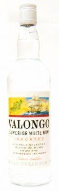 Valongo Superior White Rum (Imported) - 70 cl (37.5% vol)
