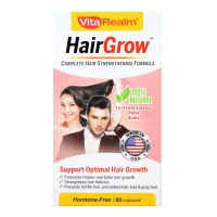 VitaRealm HairGrow - 60 Capsules