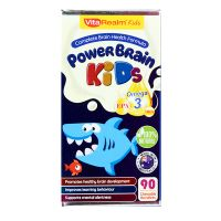 VitaRealm Kids PowerBrain Kids - 90 Chewable Burstlets
