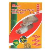 Yeekong Herb Wood Vinegar Plaster With Ginger - 10 Pads
