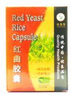 Yi Shi Yuan Red Yeast Rice Capsule - 60 Capsules