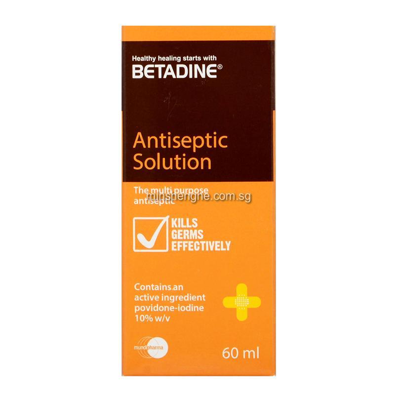 Betadine Antiseptic Solution Singapore Betadine Antiseptic Solution