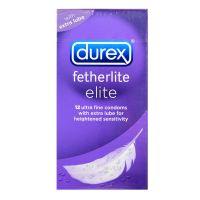 Durex Fetherlite Elite Condom - 12 Ultra Fine Condoms
