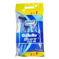 Gillette Blue II Plus - 5 + 1 Disposable Razor