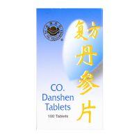 Jin Pai Trademark Co. Danshen Tablets - 100 Tablets