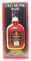 Old Monk Rum - 750 ml (37% v/v)
