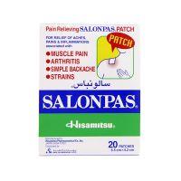 Salonpas Pain Relief Patch - 20 Patches (6.5cm X 4.2cm)